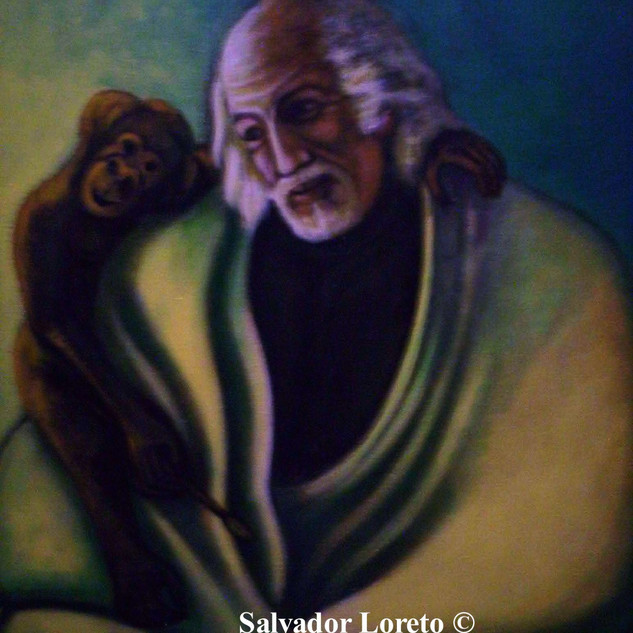 Monkey Series: In repose