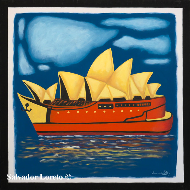 Boat Series 'The Opera House'