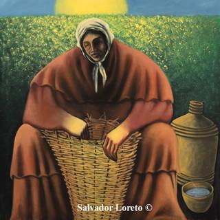 "Symbols of Women Series: ""The Basket Weaver'"