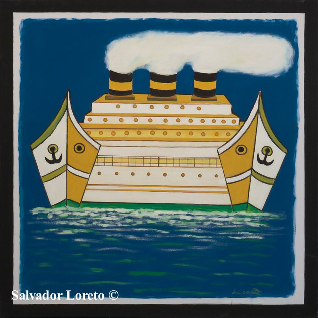 Boat Series: The Ship with two fronts