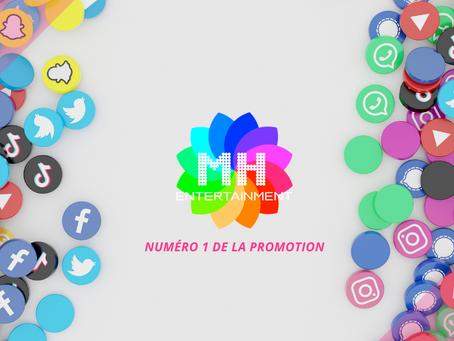 MH Entertainment : la meilleure plateforme pour promouvoir sa musique !