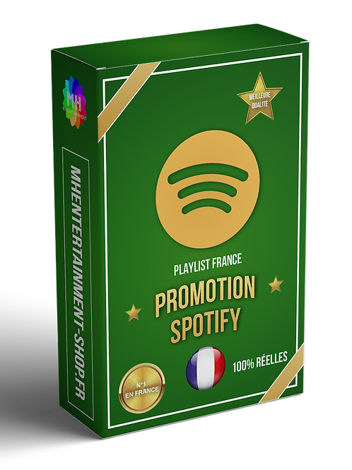 PACK ARGENT SPOTIFY (PLAYLIST CIBLAGE PAYS)