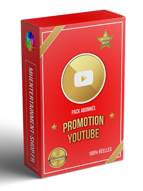PACK XXL YOUTUBE CIBLAGE PAYS