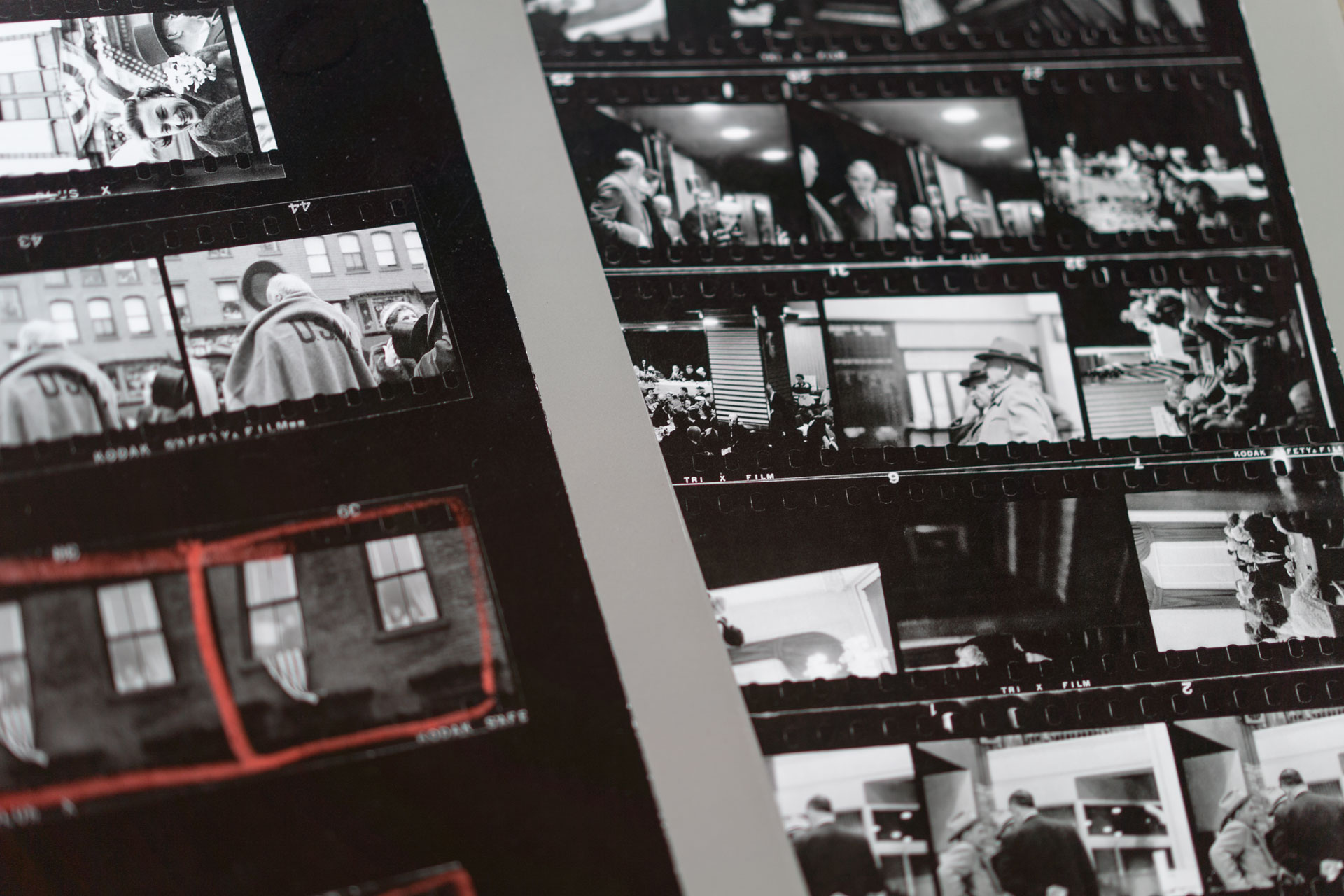 THE AMERICANS, 81 contact sheets