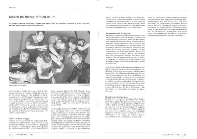WIR SIND VIELE - Press review Handicapforum