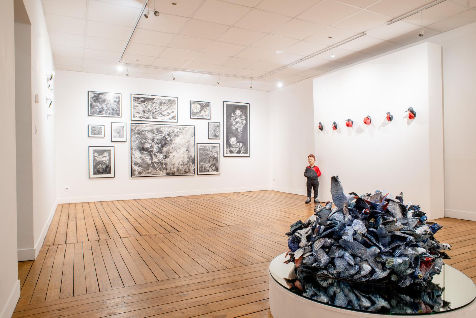 """""""Mille autres vies"""" exposition personnelle au Centre d'art le Radar 2019-2020"""