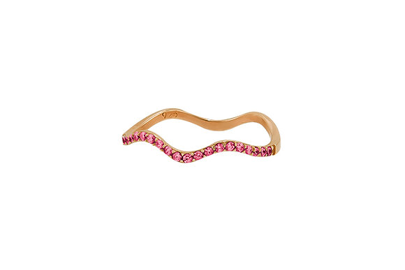 Anillo Wave Pink