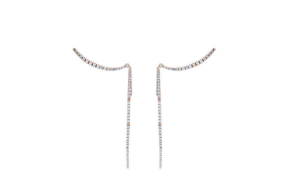 Aretes Coulisses Pink