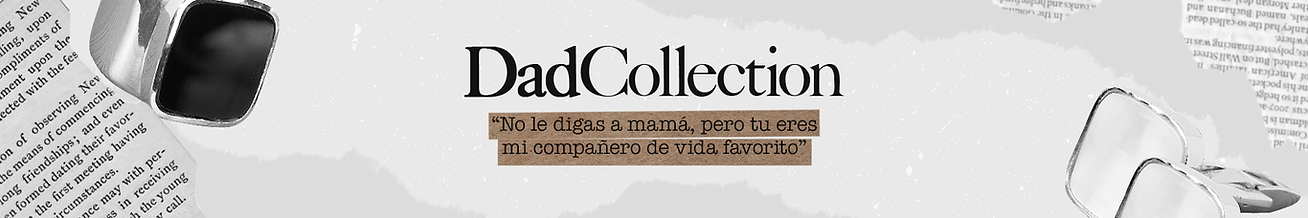 Joyas iconique banner dad collection