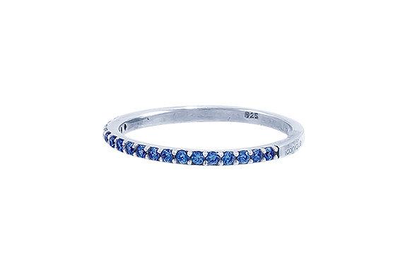 Anillo Vie Silver & Blue