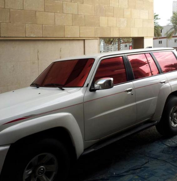 Red Window Tint >> Kuwaitcaraccessories Window Tinting