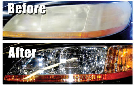 Headlight polishing kuwait