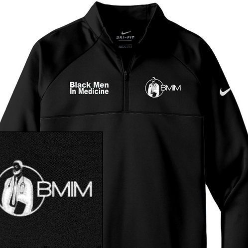 Black Men In Medicine 1/4 Zip Fit Fleece
