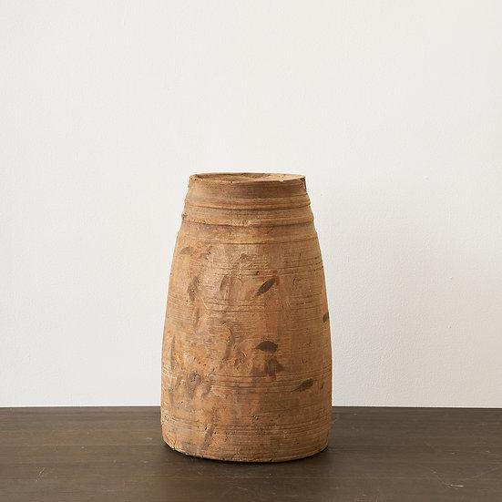 Indonesian wooden jar IV