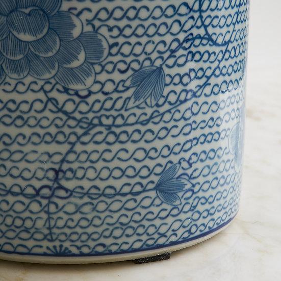 White & Blue Pottery IV