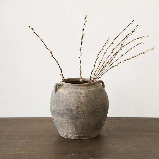 Asian Vintage Terracotta Storage Jar I