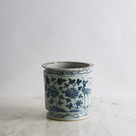 White & Blue Pottery I