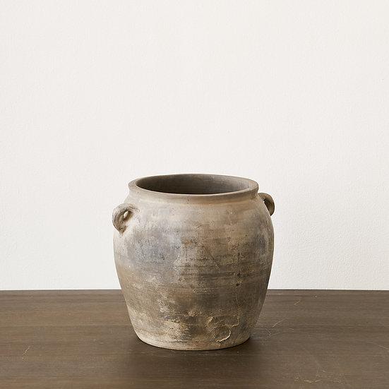 Asian Vintage Terracotta Storage Jar II