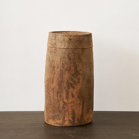 Indonesian wooden jar I