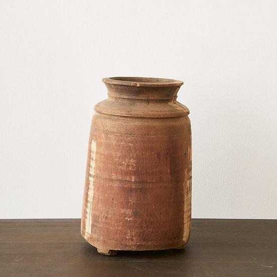 Indonesian wooden jar III