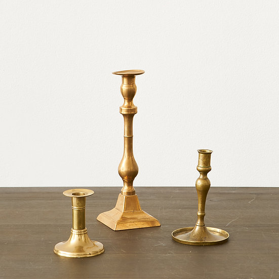 Brass Candlestick - medium
