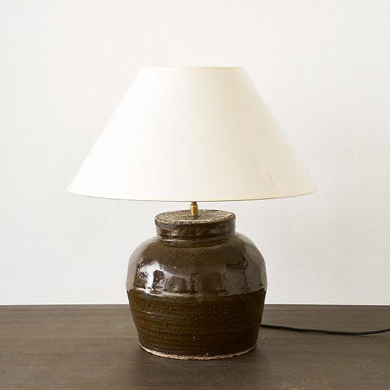 Terracotta base table lamp II