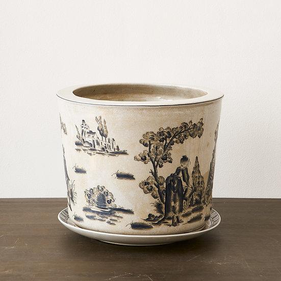 French inspired Ceramic Planter