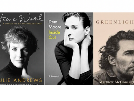 3 Hollywood Autobiographies