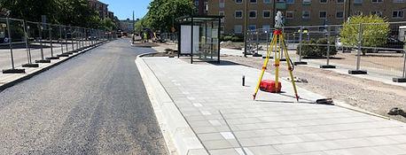 MALMÖ Tessinsväg färdigställande av busshållplats