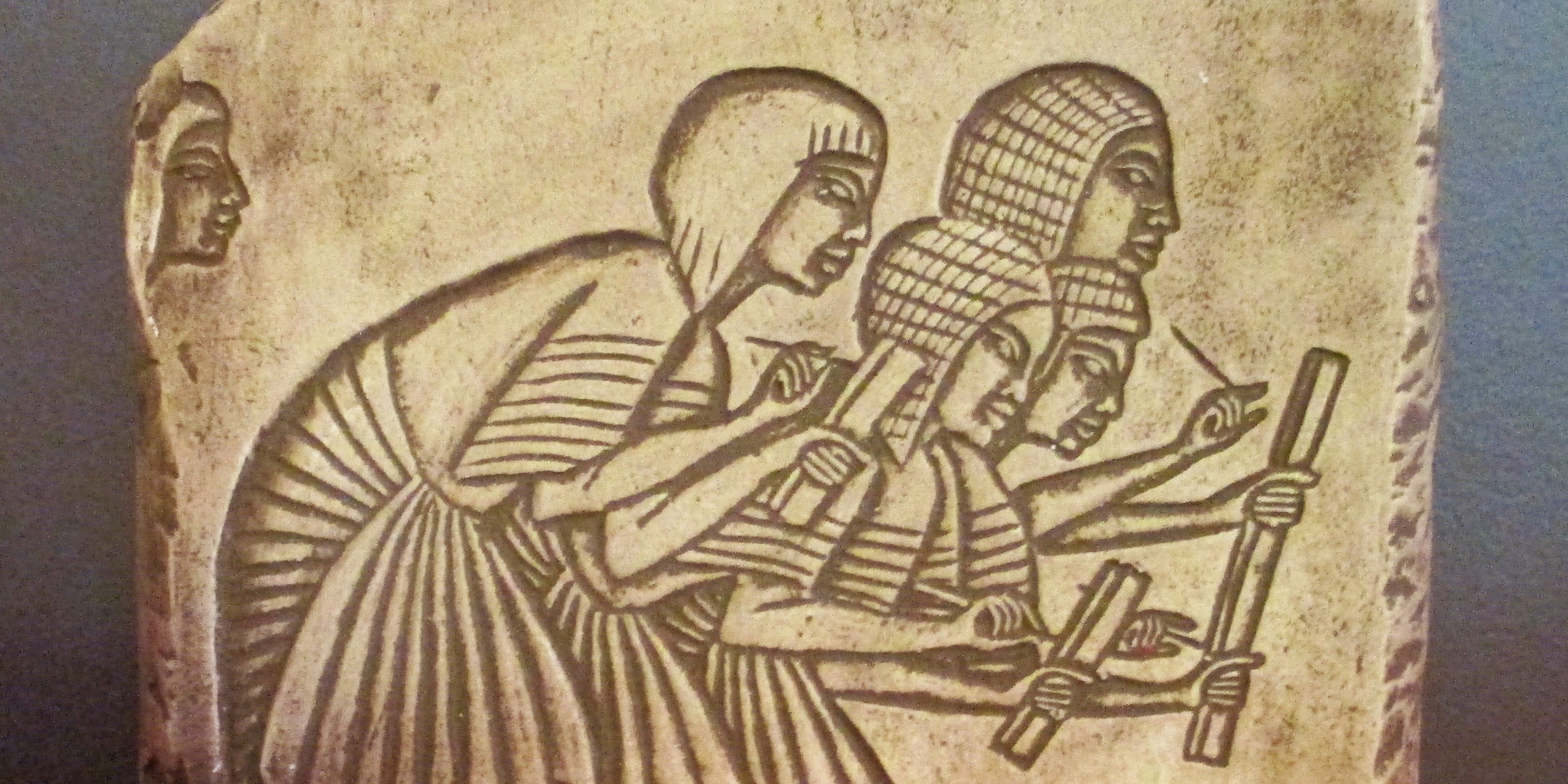 The Egyptian Scribes