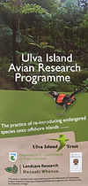 Ulva Island Avian Research Programme booklet