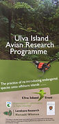 Ulva Island avian research programme