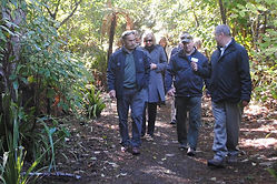 NZ Governor-General Sir Jerry Mateparae & Lady Janine visit Ulva Island, 2012