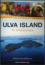 Ulva Island self-guide booklet