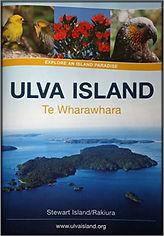 Ulva Island self-guide booklet