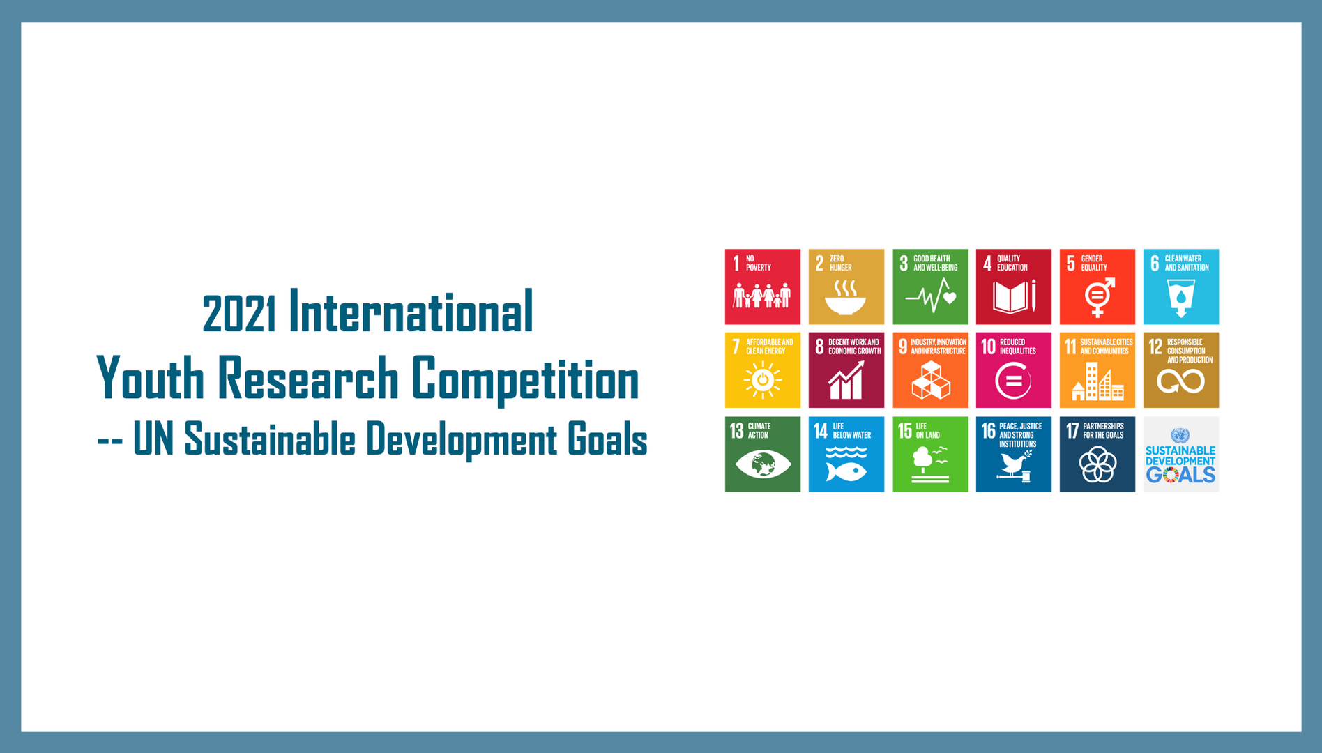 2021 International Youth Research Compet