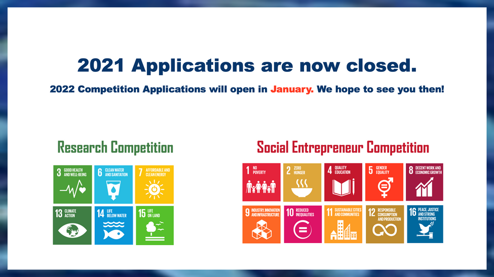 2021 Applications Closed