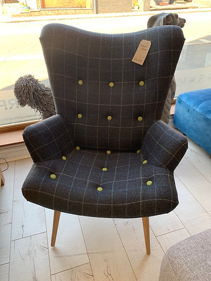 Harris Tweed Occasional Chair