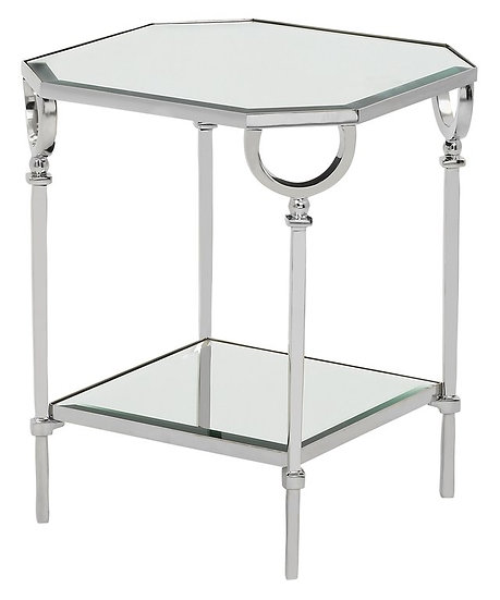 BAYONNE 2 TIER SIDE TABLE