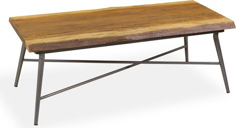 LIVING NATURAL EDGE MANGO COFFEE TABLE