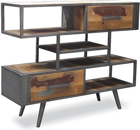 COASTAL INDUSTRIAL BUFFET SIDEBOARD