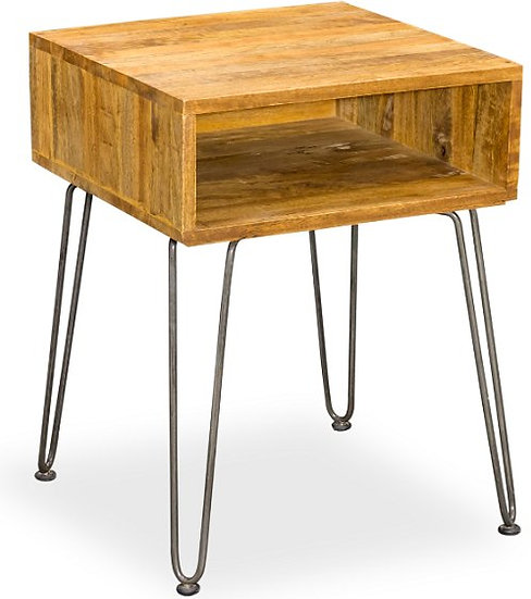 ROYSTON MANGO SIDE TABLE