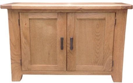 Hampshire Oak 2 Door Cupboard