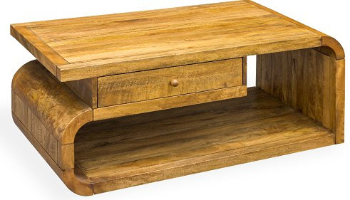 LOBBY MANGO COFFEE TABLE/ TV UNIT WITH DRAWER