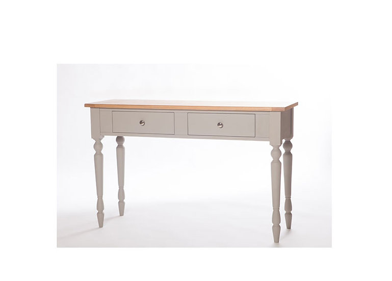Avoca Painted 2 Drawers Large Console Table