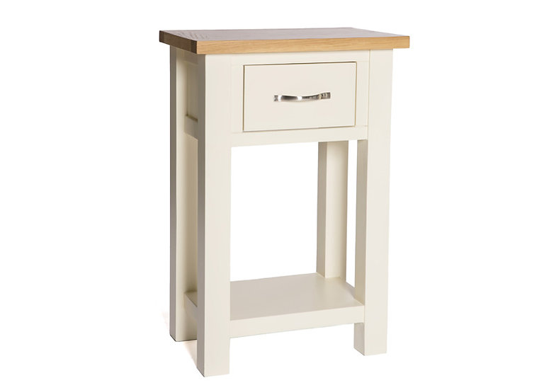 YASMIN PAINTED IVORY CONSOLE TABLE