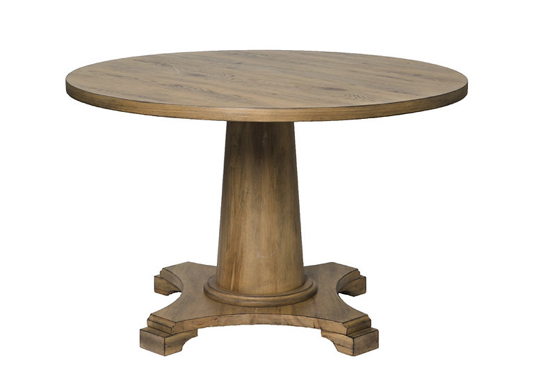 ROYALE OAK ROUND DINING TABLE