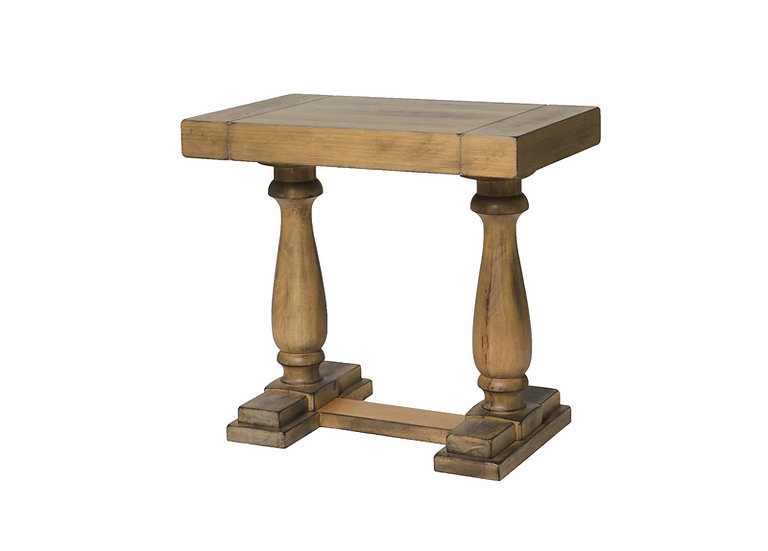ROYALE OAK SIDE TABLE