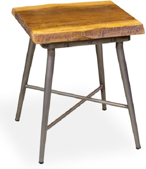 NATURAL LIVING EDGE SIDE TABLE