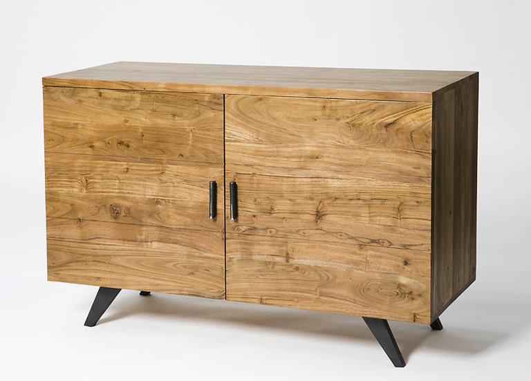 INDUSTRIAL LUXE 2 DOOR SIDEBOARD